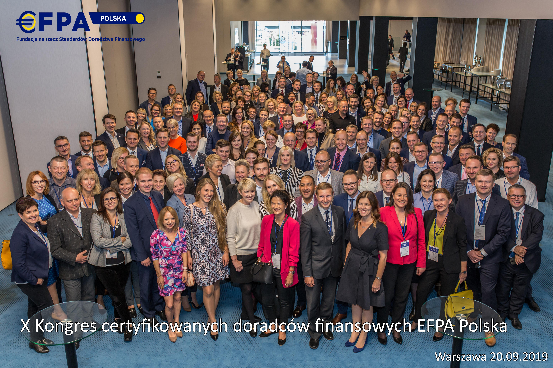 grupowe X Kongres EFPA 09 2019 napis