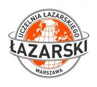 Logo Uczelnia Łazarskiego PL color